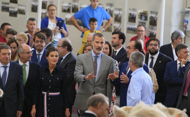 Los Reyes inauguran la Feria Agropecuaria de Salamanca