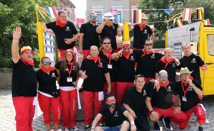 Los camareros de Segovia celebran Santa Marta