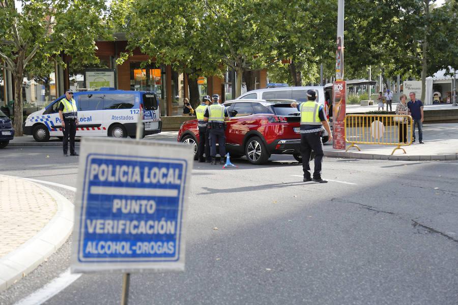 23 positivos por alcohol y 3 por drogas durante las fiestas de Palencia