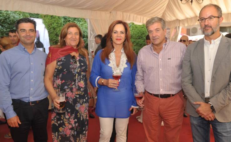 Cuarta jornada en la caseta de El Norte de Castilla