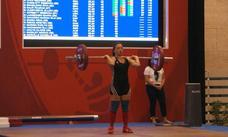 Julia Martínez, octava en el mundial máster de halterofilia