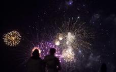 Puntúa los fuegos artificiales de la noche del viernes
