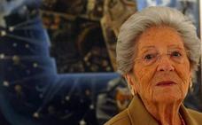 El Reina Sofía restaura 'Un mundo', que Ángeles Santos pintó en Valladolid en 1929