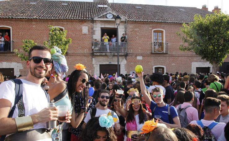 El pregón y el desfile de peñas inauguran las fiestas de Laguna de Duero 2018