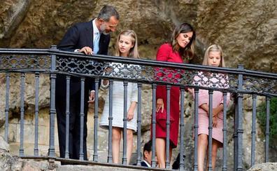 «Leonor, que la Santina guíe vuestros pasos»