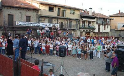 Carlos Fortes desglosa en su pregón la importancia de las fiestas mirandeñas