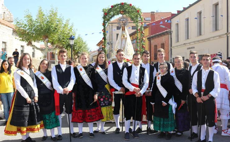 Numerosos pueblos de Valladolid festejan a la virgen