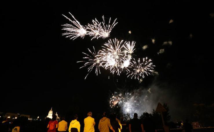 Los fuegos Artificiales encienden las fiestas en Salamanca