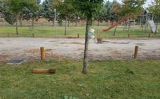 Los gamberros atacan de nuevo el parque Villa de Prado de Íscar