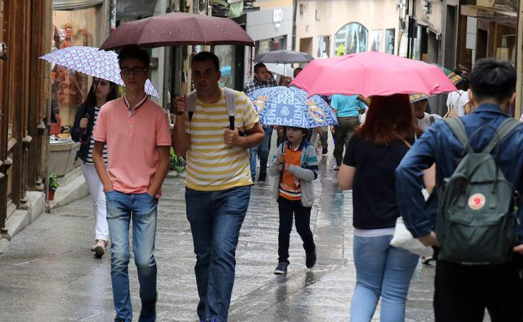 Jornada pasada por agua en Segovia