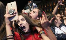 Las mejores fotos de los conciertos de las fiestas de Valladolid