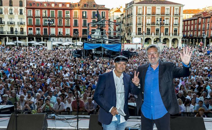 Concierto homenaje a Candeal en las fiestas de Valladolid 2018