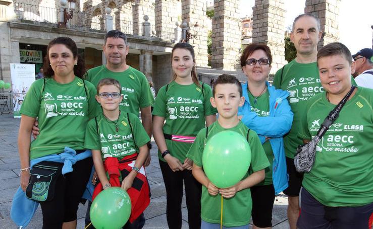 V Marcha contra el Cáncer en Segovia