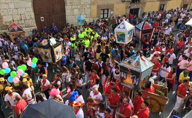 Fiesta de los faroles en los festejos de Tordesillas 2018