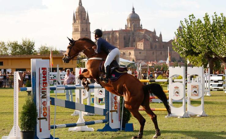 Concurso hípico nacional de saltos de obstáculos en Salamanca