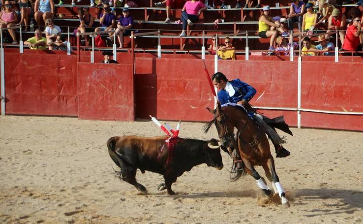 Festejos taurinos en las fiestas de Baltanás