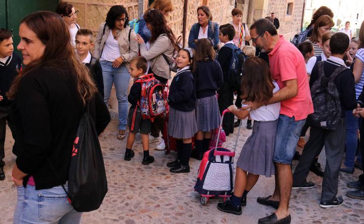 Inicio del curso en el Colegio Concepcionistas de Segovia
