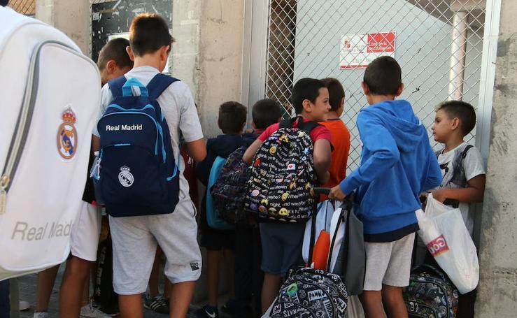 Comienzan las clases en el CEIP Atalaya de Palazuelos de Eresma