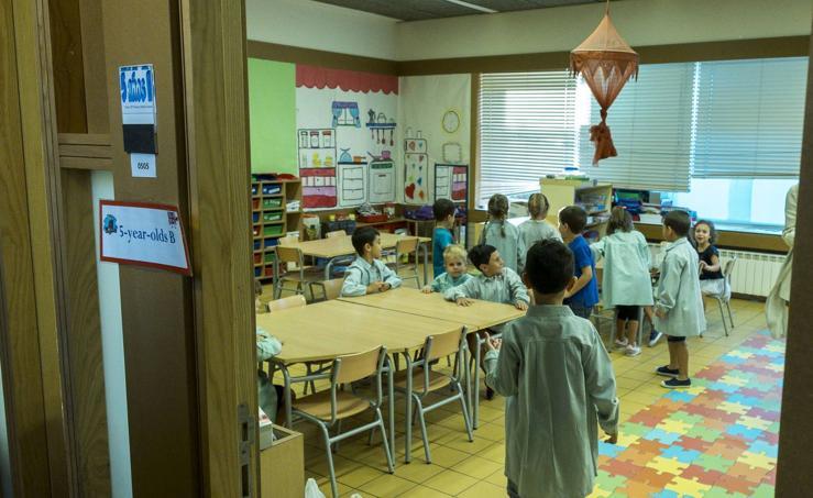 Inicio del curso en el colegio Margarita Salas de Arroyo de la Encomienda