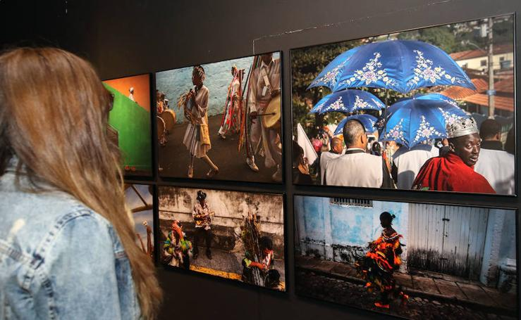 Inauguración de exposiciones del Hay Festival Segovia