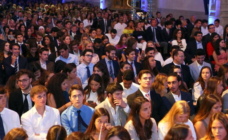 Inauguración del curso en IE Universidad
