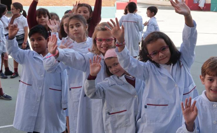 Inicio del curso escolar 2018-2019 en Valladolid
