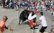 Dos heridos y un caballo muerto en un peligroso Toro de la Vega