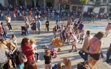 Los niños protagonizan la última jornada festiva en Béjar