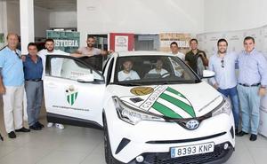 El CD Guijuelo ya dispone de coche oficial para la temporada
