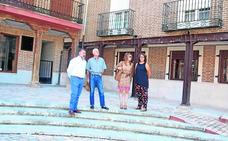 Saldaña reforma la Plaza del Trigo con 80.000 euros aportados por la Junta