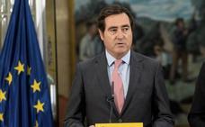Garamendi oficializa su candidatura a la presidencia de la CEOE