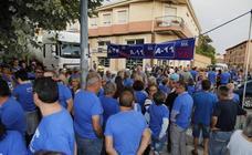 Protesta en Peñafiel para reclamar la construcción de la Autovía del Duero