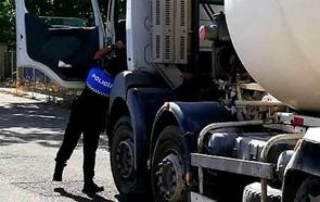 Interceptan en Valladolid al conductor de un camión hormigonera que duplicaba el límite de alcohol al volante