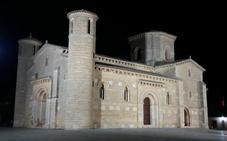 Frómista organiza una visita nocturna guiada en iglesia de San Martín