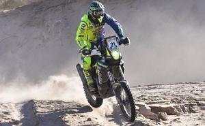 Santolino realiza un ensayo general para el próximo Dakar en el Rally Desafío Inca en Perú