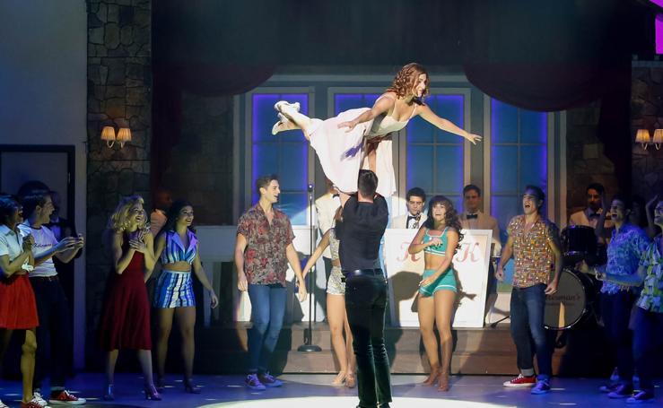 Salamanca disfruta del espectáculo Dirty Dancing