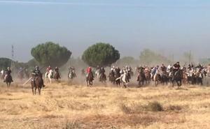 Tordesillas celebra el último encierro mixto de sus fiestas