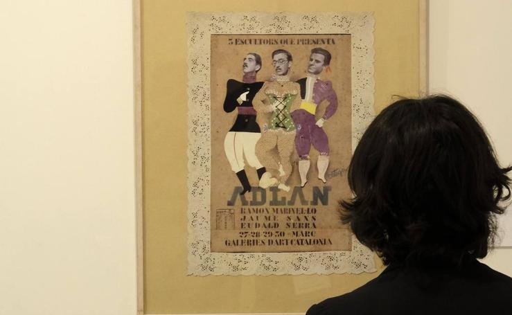 El Museo Patio Herreriano rememora los inicios del surrealismo en España
