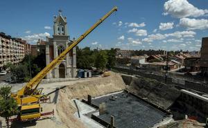 Renfe modifica temporalmente los horarios los trenes por las obras en el paso inferior de La Pilarica