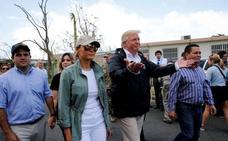 Trump acusa a los demócratas de inflar el balance de víctimas por el huracán de 2017 en Puerto Rico