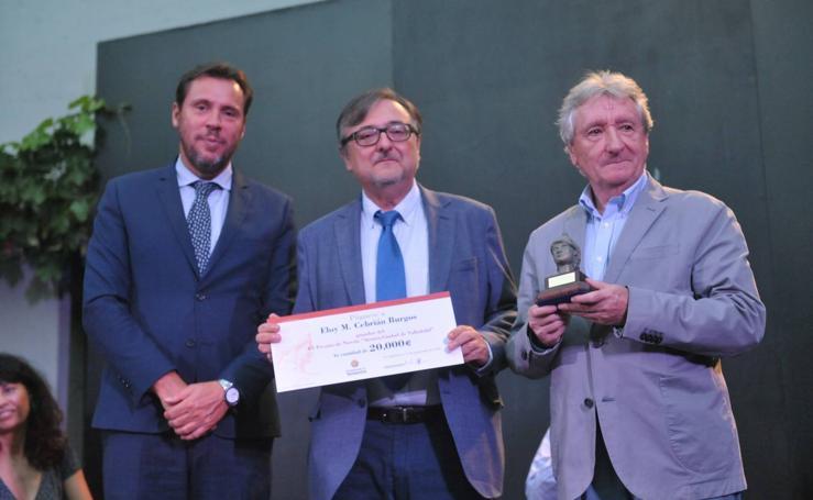 Eloy M. Cebrián recibe el Premio de Novela Ateneo Ciudad de Valladolid