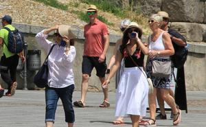 La Aemet prevé otros diez días de temperaturas por encima de lo normal en Castilla y León
