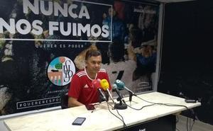 Campos confía en que el Salamanca CF UDS muestre su olfato de gol ante el Unión Adarve