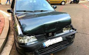 Un herido en una colisión entre tres vehículos en el Paseo Zorrilla de Valladolid