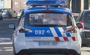 Un conductor da positivo en alcohol tras chocar contra otro vehículo y darse a la fuga en Valladolid