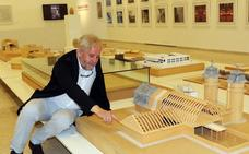 El arquitecto Roberto Valle presenta en el Patio Herreriano la exposición 'Los recursos del aquitecto'