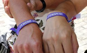El punto violeta informó a 1.000 personas durante San Antolín
