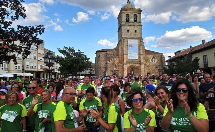 Aguilar de Campoo marcha contra el cáncer