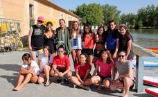 CPLV y el Rugby El Salvador, en el Canal de Castilla