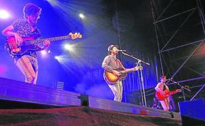 El concierto de Morat en la Plaza echa el cierre a las Ferias y Fiestas de 2018